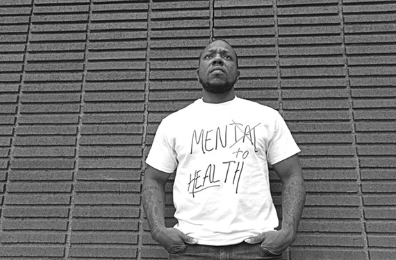 A veteran of tours of duty in Iraq and Afghanistan, James Harris has a master's degree in clinical mental health counseling and a new initiative, Men to Heal.