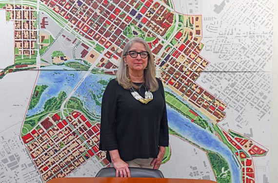 Susan Glasser recently returned to Richmond to care for her aging parents and will serve as the city's new coordinator of Richmond's Public Art Commission. She has worked at VMFA and as executive director of what is now the Visual Arts Center of Richmond.