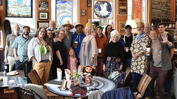 The Friday morning Breakfast Cabaret at Crossroads Coffee and Tea is one of Richmond's most endearing communal rituals.