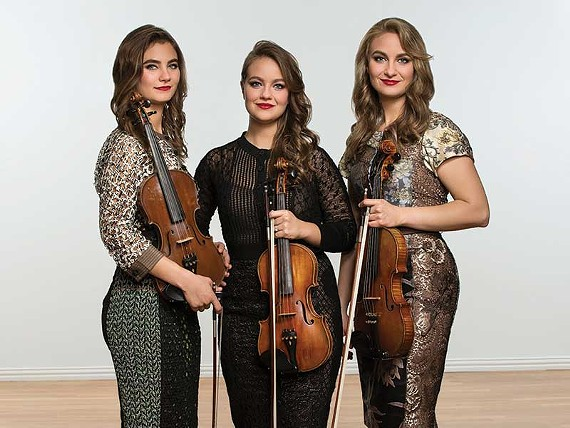 The Cultural Arts Center Glen Allen presents The Quebe Sisters on May 13, 2020.