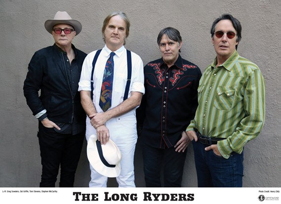 The Long Ryders are back.