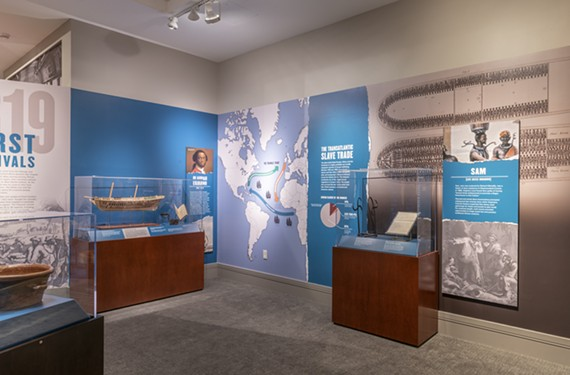 "One of the exhibit rooms from ""Determined: the 400-Year Struggle for Black Equality"" running through March 29 at the Virginia Museum of History & Culture."