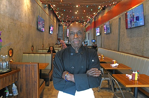 Chef Robert Holmes leads the kitchen at Poor Boys of Richmond, a Cajun-Creole restaurant in the Fan.