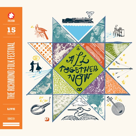 "The compilation ""All Together Now,"" by Richmond's Spacebomb Records will feature live highlights from past Richmond Folk Festivals on the occasion of its 15th anniversary."