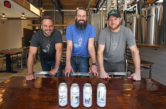 Matthew Mullett, Brian McCauley and Hank Schmidt III recently opened Richbrau Brewing Co. with four flagship beers.