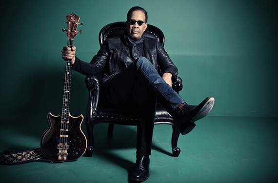 American jazz-fusion bassist, Stanley Clarke, a four-time Grammy winner, will perform at the Richmond Jazz and Music Festival at Maymont.
