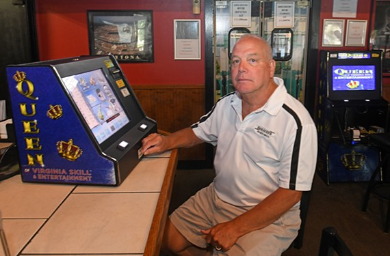 Chris Heppert, owner of Breakers Sports Bar & Grille in Henrico, says he's been making money every week since he installed Queen of Virginia machines eight months ago.