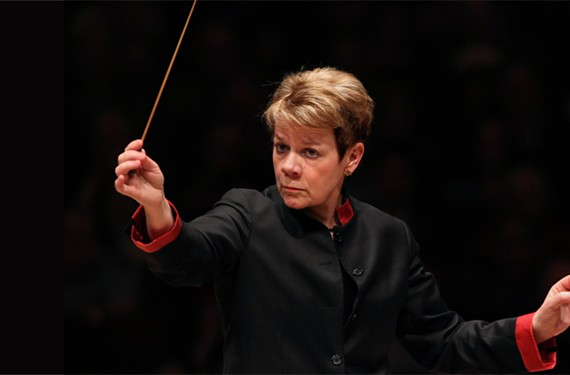 Conductor Marin Alsop returns to the Richmond Symphony on Sept. 21.