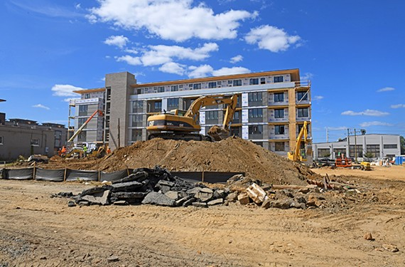 City View Landing near 521 Hull St., part of a 161-unit development in Manchester.