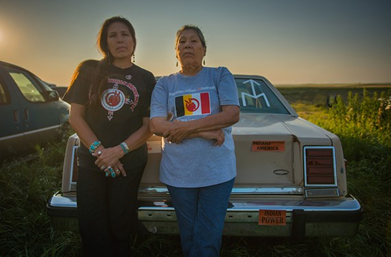 "A still from ""Warrior Women,"" the story of Madonna Thunder Hawk and her daughter Marcy who were organizers of the American Indian Movement (AIM) in the 1970s. Sunday, Nov. 24 at 7 p.m. at the Pocahontas Reframed Fest."
