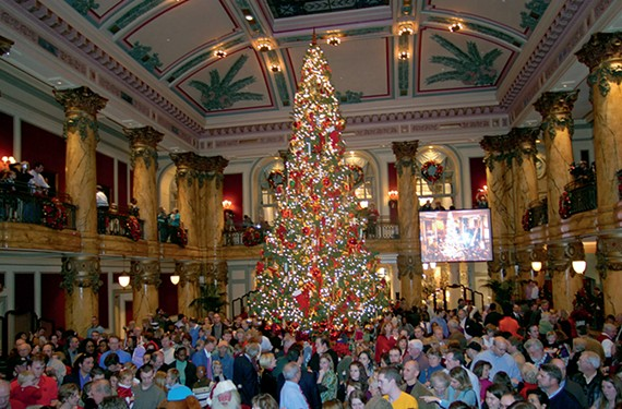 A Richmond holiday tradition, the annual tree lighting at the Jefferson Hotel takes place on Monday, Dec. 2, at 5 p.m.