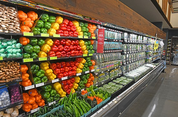 The Whole Foods store at 2024 W. Broad St. opened last week to long lines of customers.