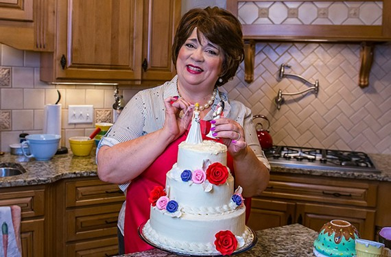 """Terri Moore delivers """"a fully fleshed-out performance"""" as Della, a North Carolinian baker who receives a request for a wedding cake from a lesbian couple."""