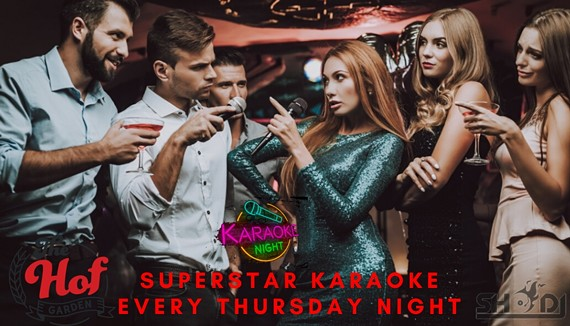 Superstar Karaoke Every Thursday Night with your host Sho DJ