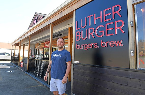 Ian Kelly, owner and founder of Sugar Shack and Luther Burger, has been giving back to first responders, nurses and school kids.