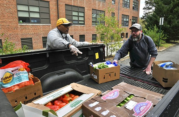 Underground Kitchen founder Micheal Sparks and chef Jason Bullard are working with area churches to provide meals for those who need it most.