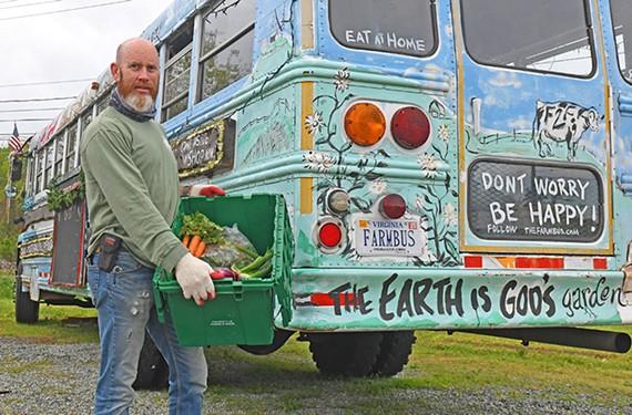 Richmond Farm Bus founder Mark Lilly.