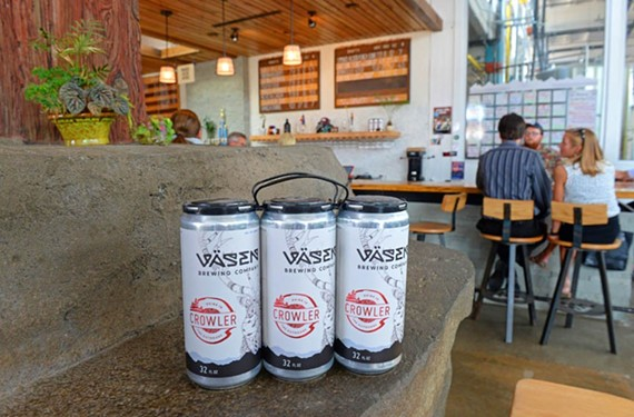 Väsen Brewing Co. has it made it easy to order canned beer to go.