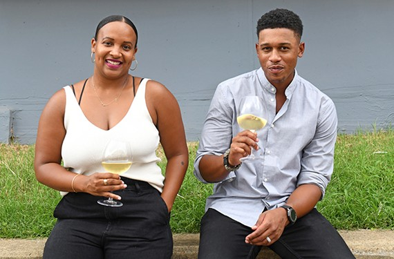 RichWine owners Lance Lemon and Kristen Gardner are Hanover County natives who graduated from the University of Virginia. Their wine boutique will soon be moving into its own space on Maury Street.
