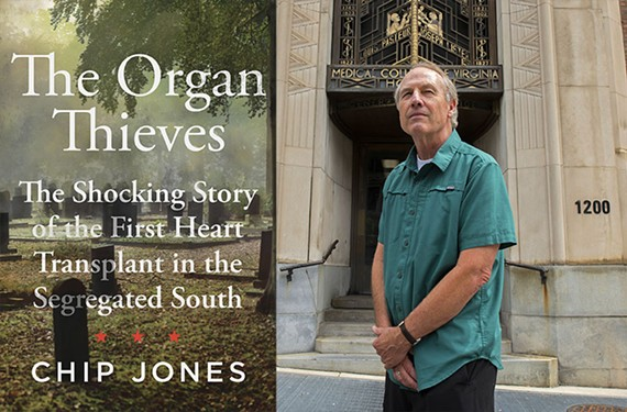 Author Chip Jones, a former Richmond Times-Dispatch reporter, has written three other books.