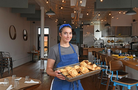 Alewife sous chef Amanda Sanders started Little Cat Bakery in July.