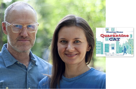 "Richmonders Frank Pichel and Sarah Legare recently released a book titled ""Staying Home with Quarantine Cat"" to provide a resource to help families navigate conversations about the coronavirus."