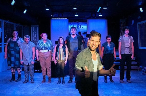"""TheatreLab's """"Urinetown"""" musical won big with 10 Artsies during this year's virtual awards show."""