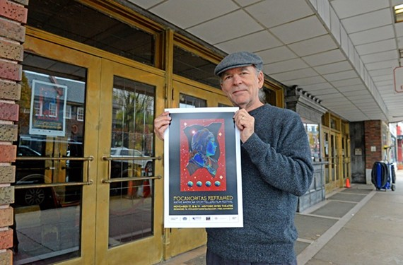 Brad Brown, member of the Board of Directors for Pocahontas Reframed Festival.