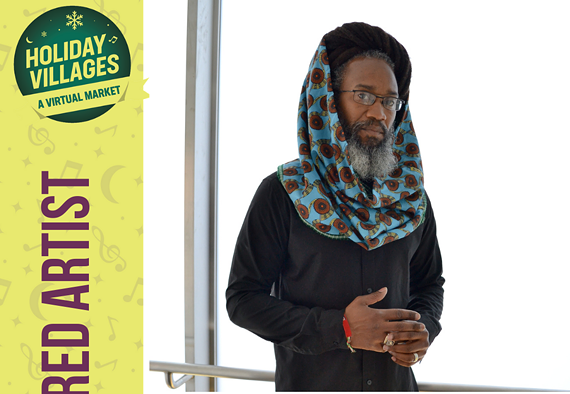 Local reggae artist Mighty Joshua is a featured artist for Holiday Villages, a virtual market.