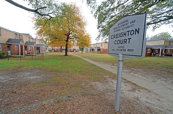 The Richmond Redevelopment and Housing Authority plans to demolish Creighton Court in favor of a voucher-based, privately owned development.