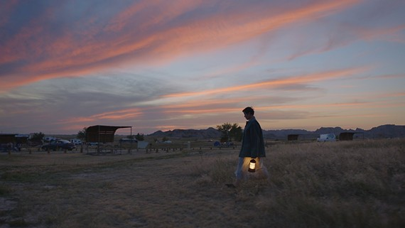 """Frances McDormand as Fern in director Chloé Zhao's """"Nomadland,"""" now streaming on Hulu."""
