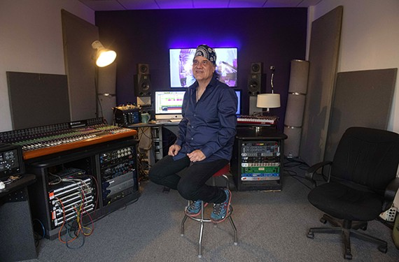 John Morand, engineer, producer and part owner of Sound of Music, says that the legendary recording studio soon will have a new home on Brook Road.
