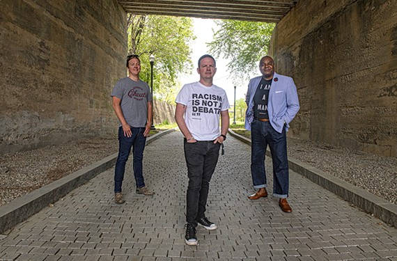 David Waltenbaugh, Dean Browell and J. Dontrese Brown launched the immersive web project, Hidden in Plain Site, late last year.