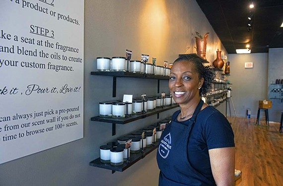 Terry Brown is opening Brown House Candle Co. on May 7 in Midlothian.