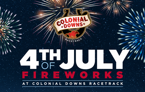 4th of July at Colonial Downs