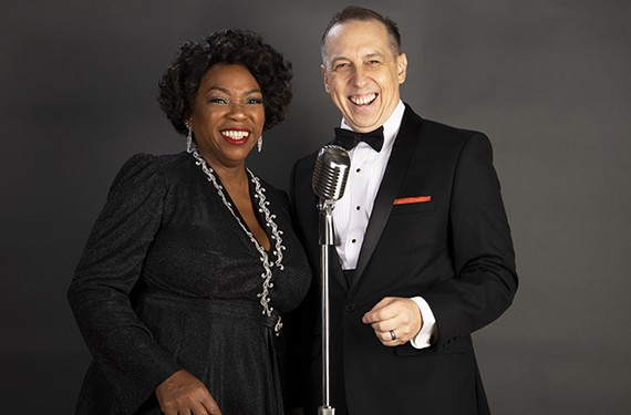 """Desirée Roots and Scott Wichmann star in Virginia Rep's """"Ella and Her Fella Frank."""""""