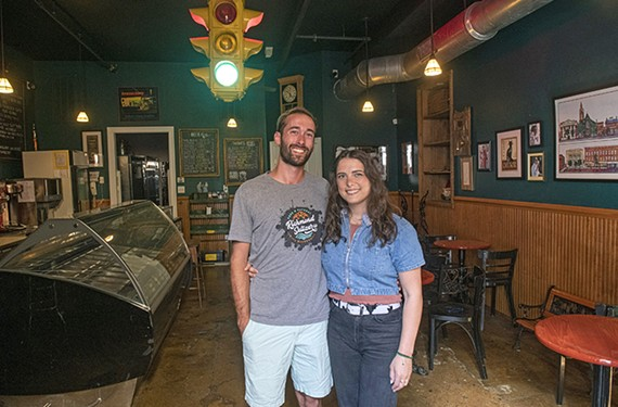 Richmond Seltzer Co. co-founders Iain Gordon and Vanessa Gleiser began experimenting with hard seltzer home brewing last summer and now are partnering with Stoplight Gelato; seltzers have fewer calories and a simpler chemistry than beer.