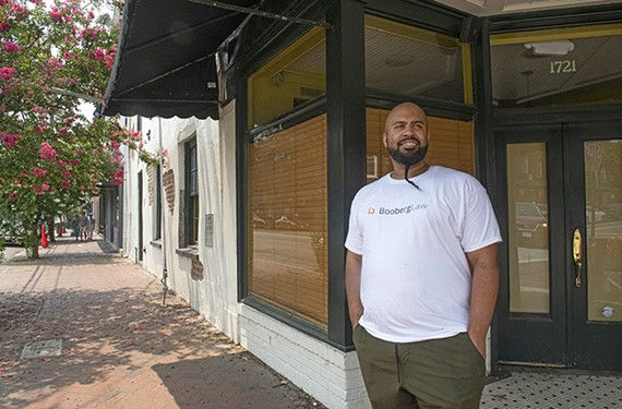 """JewFro will meld  modern and traditional African and Jewish cuisine. It is set to open """"late summer, early fall"""" at 1721 E. Franklin St., says co-owner Trey Owens."""