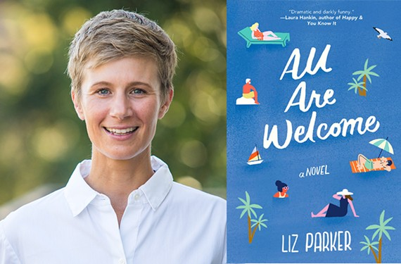 """Los Angeles-based author Liz Parker's first novel, """"All Are Welcome,"""" was published this month."""