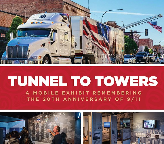 Tunnel to Towers, a 9/11 Mobile Exhibit