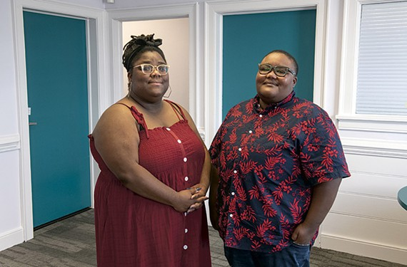 Taneasha White and Brooke Taylor are launching Collab Spot this month in North Side.