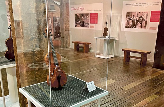 Musical instruments that were played by Jews in camps and ghettos during the Holocaust are currently on display at the Virginia Holocaust Museum (pictured), the Virginia Museum of History & Culture and the Black History Museum & Cultural Center of Virginia.