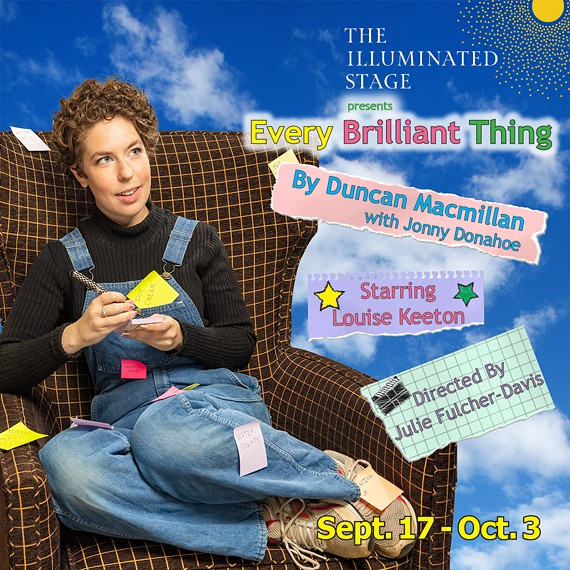 Louise Keeton in Every Brilliant Thing