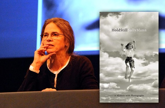 "The new book by famed Virginia photographer Sally Mann, pictured at VMFA in 2010, has been hailed as an ""instant classic among Southern memoirs of the last 50 years"" by The New York Times."