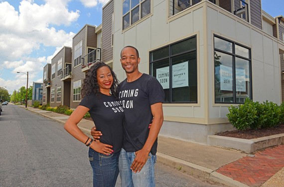 Michelle Cosley and A.J. Brewer will open Brewer's Café at the beginning of August at Bainbridge Avenue and 12th Street.