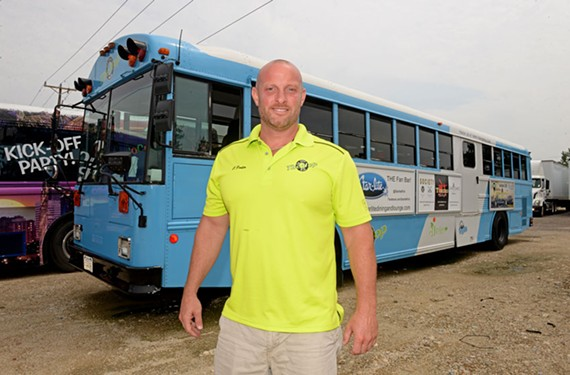 Chad Porter is hoping for $18,000 in donations to keep his bus, TheHopRVA, on the road.