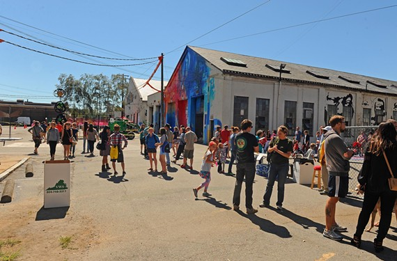 A decision on the future of the former GRTC depot in the Fan, as seen during the Street Art Festival in 2013, is expected by Sept. 15.