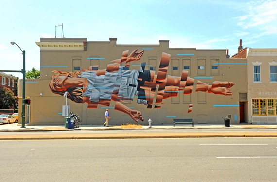 James Bullough's mural at 620 N. Lombardy St. is one of the myriad visual symbols helping form Richmond's arts and cultural identify.