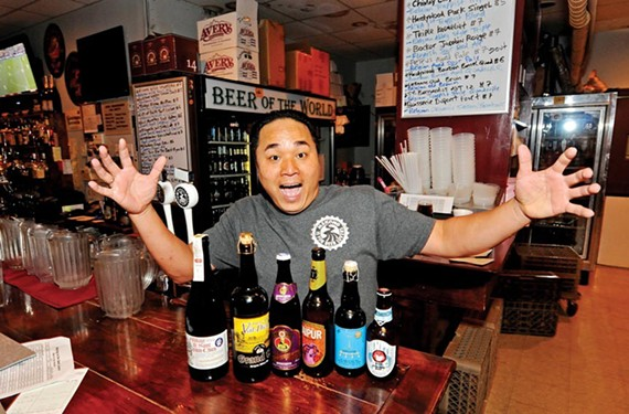 An Bui, owner of Mekong, the Answer and Commercial Taphouse, knows — and loves — beer.