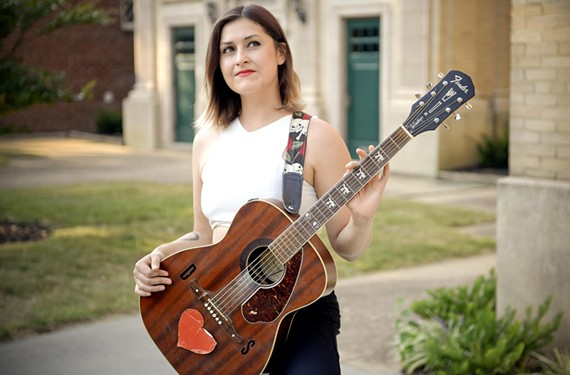 Samantha Pearl, who's been making fans through her regular gigs at Crossroads Coffee and Ice Cream, busked across the country before moving to Richmond.